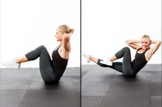 Use this power circuit to tighten and tone your tummy in 5 minutes.