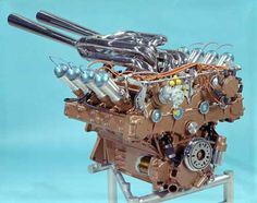 1964 Ford DOHC Indy V8:  One of these is sitting in a '65 Mustang Fastback, in Southern California.