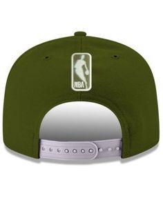 New Era Los Angeles Clippers Fall Dubs 9FIFTY Snapback Cap - Green Adjustable
