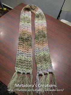 Starfish Scarf - Meladora's Creations Free Crochet Patterns & Tutorials