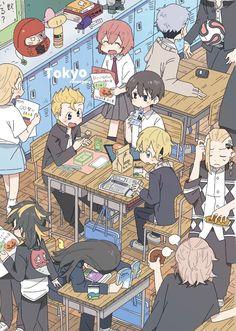 Animes Yandere, Fanarts Anime, Anime Chibi, Kawaii Anime, Anime Characters, Fictional Characters, Animes Wallpapers, Cute Wallpapers, Otaku Anime