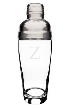 Cathy's Concepts Personalized Cocktail Shaker - White