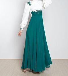 Mileny Evening Dress 2013 -- I Love it !! #Hijab