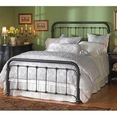 Braden Iron Bed by Wesley Allen