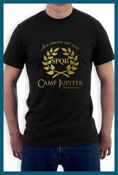 Gildan CAMP HALF-BLOOD Branches T Shirt Men Women CAMP JUPITER SPQR Purple Sci-Fi Percy Jackson O Neck Short Sleeve T-shirt Tee