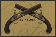 Check out Flintlock Pistol by Bearded Creative on Creative Market