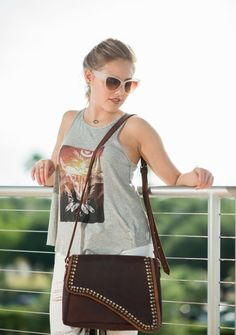 Moroccan studded crossbody now 40% off $115 plus get free shipping on orders over $75