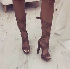 Like what you see? Follow me for more: @India16 Shoe Game, Strappy Heels, Gladiator Sandals, Buy Shoes, Peep Toe, Shoe Boots, Footwear, Cute Outfits, Sneakers