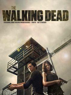 The Walking Dead! Glenn & Maggie, Season 4 #TWD