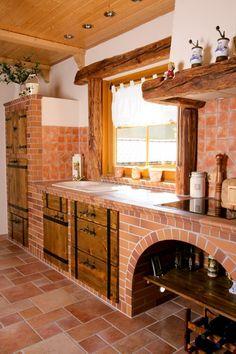 Outdoor Kitchens, Modern Farmhouse, Dream Kitchens, Single Wide Trailer,  Kitchen Ideas, Cottage Interiors, Terracotta, Viva La, Pallets
