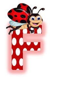 S.T.R.U.M.F.: Litere mari si cifre buburuze Alphabet, Alfabeto Animal, Ladybug Picnic, Miraculous Ladybug, Smurfs, Disney Characters, Fictional Characters, Minnie Mouse, Symbols