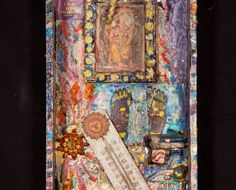 Mixed Media | Lord Ganesh Will See You  | Original painting by artist Daniel Aaron Schwartz