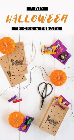 Your favorite things about the spooky fall holiday—tasty sweets and family traditions—come together with this collection of 3 DIY Halloween Tricks and Treats. Featuring Halloween candy from Kroger—like Snickers, M&M's, Twix, and Skittles—no matter which activity you choose, it's sure to fit the feeling of the season!