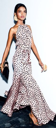 Adorable Polka Dot Dress Ideas To Makes You Look Fashionable Vestido Dot, Dress Outfits, Dress Up, Dresses Dresses, Gym Outfits, Fitness Outfits, Dress Skirt, Casual Dresses, Vestidos Fashion