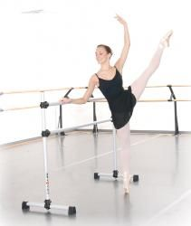 The more expensive Professional series Vita Vibe portable barre... Better clamps.