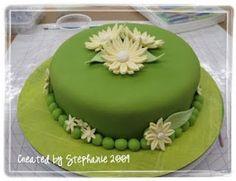 Wilton course 2 cake   2009