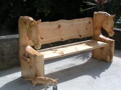 Horse Head Bench Project - Page 3 - Arbtalk.co.uk | Discussion Forum for Arborists