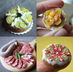 PetitPlat Handmade Miniature Food: April 2009