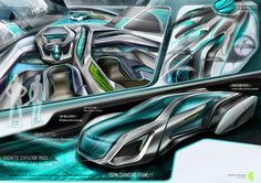 Future Car, Poster, Futuristic Cars, Posters, Billboard
