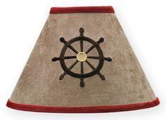 Sweet Jojo Designs Pirate Treasure Cove Lamp Shade available at TinyTotties.com #tinytotties #kidsroomdecor