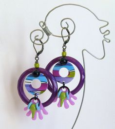 JUST FAB  Earrings III by droolworthy on Etsy, $26.00