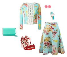 """""""Spring Florals"""" by kathleen-smyth on Polyvore featuring Blumarine, INC International Concepts, Kate Spade and Dollydagger"""