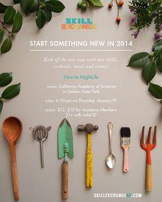 Adore this poster for the next Skill Exchange! #design #skillexchange @Kate Mazur Mazur koeppel
