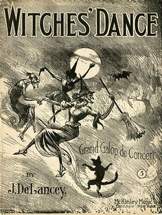 'Witches' Dance' sheet music, 1909