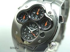 Seiko Sportura Kinetic Chronograph