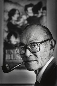 """Fred Korematsu. """"Korematsu spoke out after September 11, 2001 [saying] how the United States government must not let the same thing happen to people of Middle-Eastern descent as what happened to Japanese Americans. When prisoners were detained at Guantanamo Bay for too long of a period, in Korematsu's opinion, he filed two amicus curiae briefs with the Supreme Court and warned them not to repeat the mistakes of the Japanese internment"""""""
