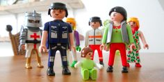 Family constellation with playmobil