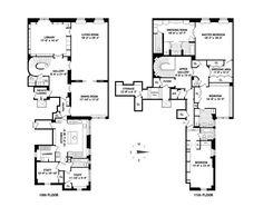 new york penthouse floor plans - Google Search