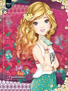 Caderno Brochura Capa Dura Top Universitário Menininhas - 96 Folhas