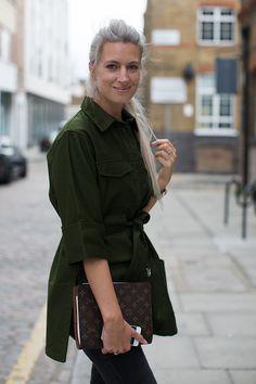 On the Street….Sarah Harris, London & Milan
