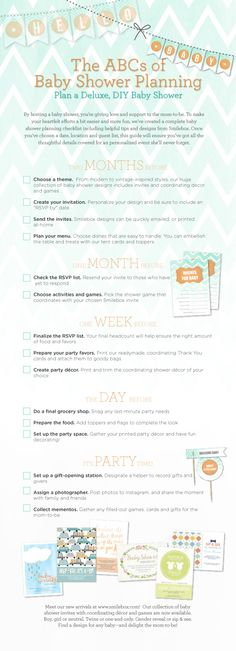 Baby Shower Planning Guide by Smilebox. Learn how to plan the perfect baby shower!