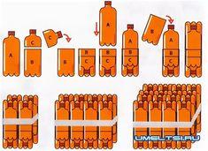 мебель из пластиковых бутылок своими руками: 2 тыс изображений найдено в Яндекс.Картинках White Side Tables, Plastic Bottles, Recycling, Office Supplies, Plastic Craft, Crafts, Crochet, Home Decor, Recycle Plastic Bottles