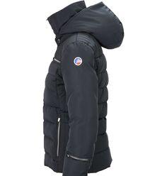 VESTE IZIA FUSALP ski hiver pour femme noire capuche La veste matelassée  IZIA est développée dans fd890c1a0eb
