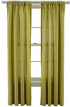 MarthaWindow Caldwell Rod-Pocket/Back-Tab Curtain Panel