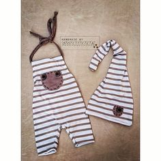Newborn baby set / photoprops