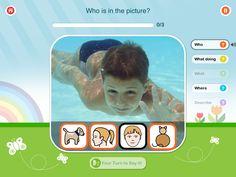 App review: Colourful Semantics! Great for language development.