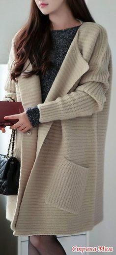 Кардиганы.. пальто.. джемпера и всякие штучки... Искала вдохновение... - Вязание - Страна Мам