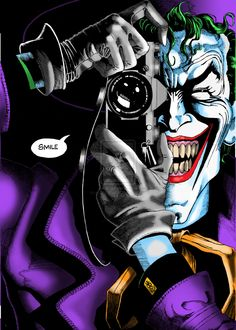 BATMAN: THE KILLING JOKE by Alan Moore. One bad day. According to the grinning engine of madness and mayhem known as The Joker, that's all that separates the sane from the psychotic. Freed once again from the confines of Arkham Asylum, he's out to prove his deranged point.
