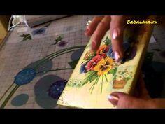 ▶ Используем акриловую краску в качестве контура - YouTube