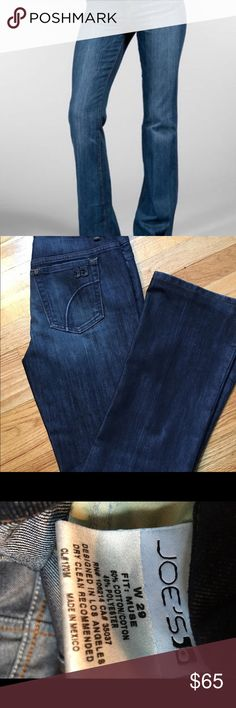Joe's jeans muse fit Never worn. Great classic fit jean in a dark wash Joe's Jeans Jeans Boot Cut