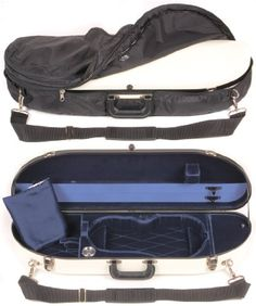 Bobelock 1047FV White Fiberglass 44 Violin Case with Blue Velvet Interior and Protective Bag >>> Read more reviews of the product by visiting the link on the image.Note:It is affiliate link to Amazon.