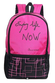 10 Sassie Grey Polyester 41 Ltr School Backpack Online Shopping