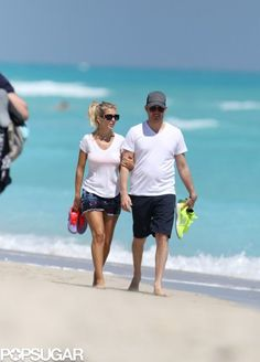 Michael Bublé and Luisana Lopilato in Miami Photo 2