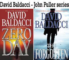 David Baldacci books John Puller series  http://www.mysterysequels.com/david-baldacci-books-in-order