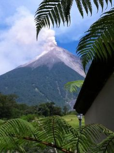 Climb to the top of a volcano  {Antigua, Guatemala}