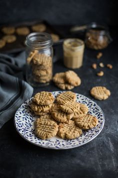 The best cashew nut butter cookies #baking #recipes